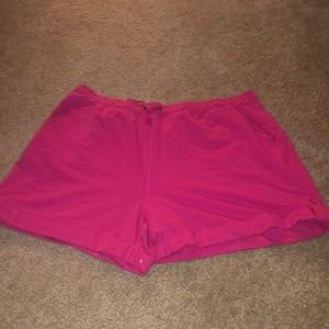 Cotton pink shorts